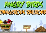 Angry Birds Dangerous Railroad