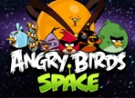 Angry Birds Shooting Angry Birds Space