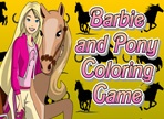 Barbie and Pony Conoring