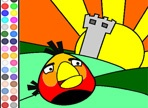 Colorear Angry Birds