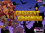 Crescent Monster High Cat Grooming Game with Dress Up