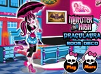 Monster High Draculaura Room Decoration