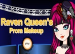 Raven Queen's Prom Make Up