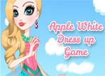 Royal Apple White dress up game