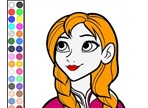 Play Anna Coloring